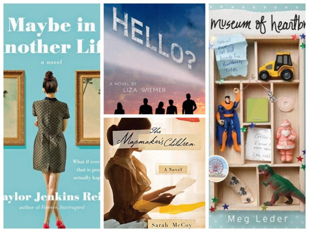 Book recommendations that worked: Maybe in Another Life, Hello?, The Mapmaker's Children, The Museum of Heartbreak