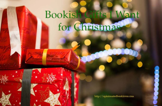 Bookish Gifts I Want for Christmas