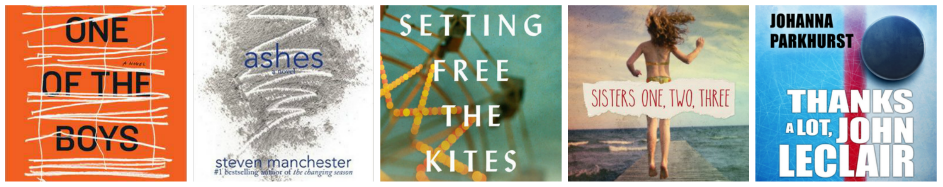 Spring TBR: One of the Boys, Ashes, Setting Free the Kites, Sisters One Two Three, Thanks A Lot John LeClair