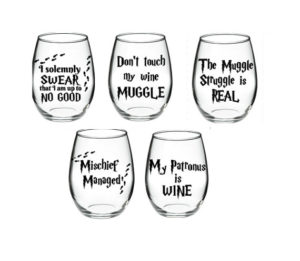 Stemless Wineglasses