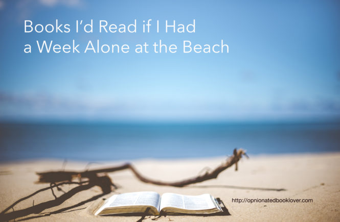 Books I'd Read if I Had a Week Alone at the Beach