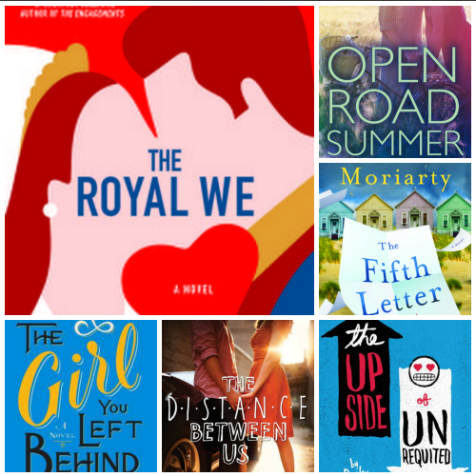 New-to-Me Beach Reads: The Royal We, Open Road Summer, The Fifth Letter, The Up-Side of Unrequited, The Distance Between Us, The Girl You Left Behind