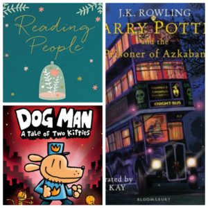 Pre-Ordered Books: Reading People, Dog Man 3, Harry Potter 3